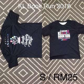 KL book run 2018 running shirt