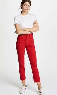 AGOLDE riley hi rise straight jeans 26