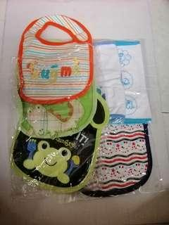 New Baby Bibs (refer 1st n 2nd pic for more)