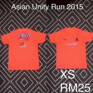 Asian unity run 2015 running shirt