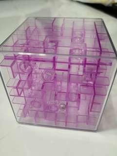 Transparence purple 3D squate Maze