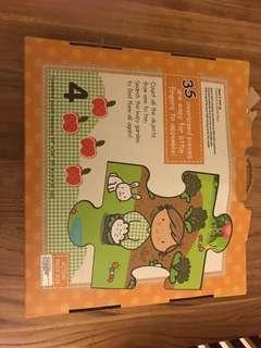 Large 35 piece puzzle