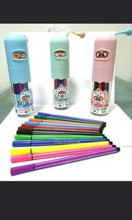 Cute Smiley Portable Markers