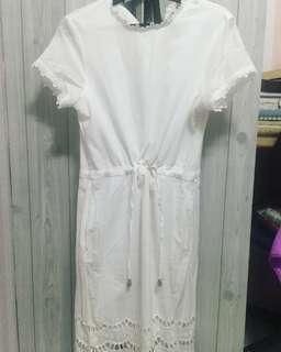 Bayo White Dress Medium