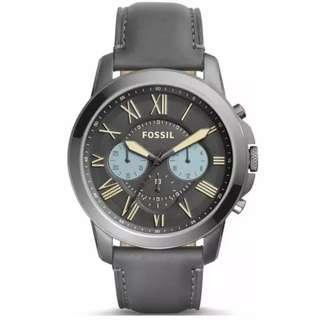 Fossil Grant Gunmetal Dial Men's Chronograph Watch