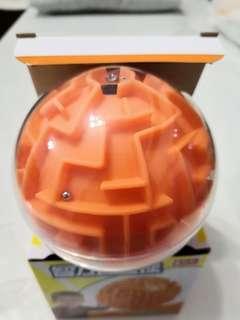 Round 3D maze 9.5cm -easy