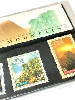 獅子山 LION ROCK 香港群山 郵票