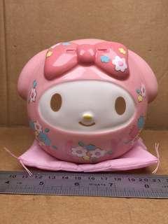 Sanrio My Melody Daruma 達摩陶瓷錢罌 255581