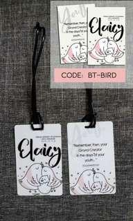 Bagtag Personalized
