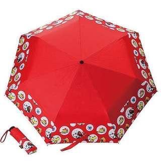 🚚 全新 Disney 迪士尼 米妮 折疊傘 陽傘 雨傘