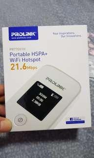 Portable wifi hotspot prolink