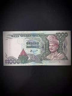 马币旧钞$1000块
