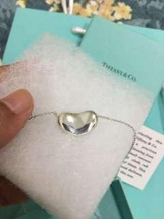 Tiffany and Co Elsa Peretti Bean Necklace