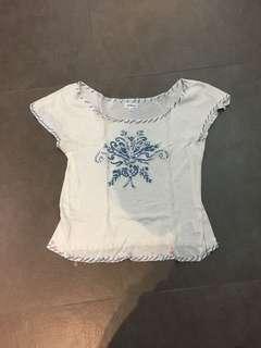 Vert Dense white shirt