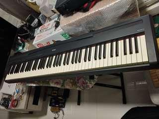 Yamaha P85 88 weighted keys digital piano for sale