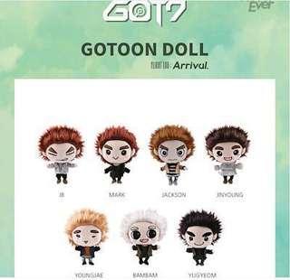 🚚 [PO] Got7 Gotoon Doll (Arrival Ver)