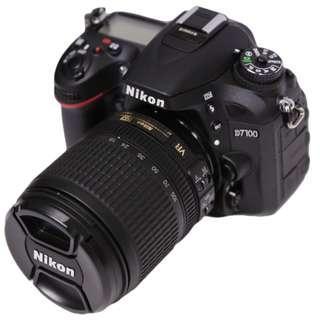 Nikon D7100 w/18-105 Kit Lens For Sale !!!