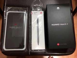 HUAWEI Mate20 X (6GB + 128GB Midnight Blue)