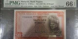 马币旧钞$10块