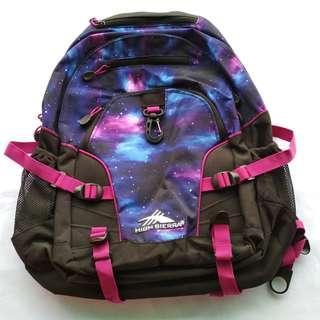 High Sierra Loop Unisex Printed Backpack - Pink : SRP of 70$ US ( 3,600Php+ )
