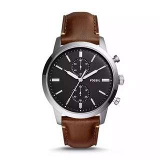 Fossil Townsman Chronograph Brown Watch