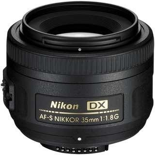 Nikon 35mm 1.8G DX For Sale !!!