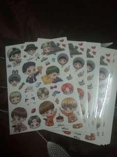 BTS Fanart Stickers