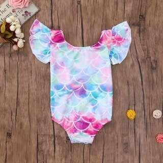 🚚 Mermaid Baby Swimsuit Swimwear