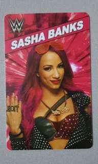 Limited Edition WWE Sasha Banks Mercedes Kaestner Varnado Card