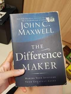 The Difference Maker - John C Maxwell