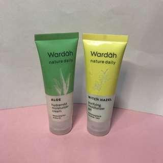 Wardah - Hydramild Moisturizer Cream and Purifying Moisturizer Gel