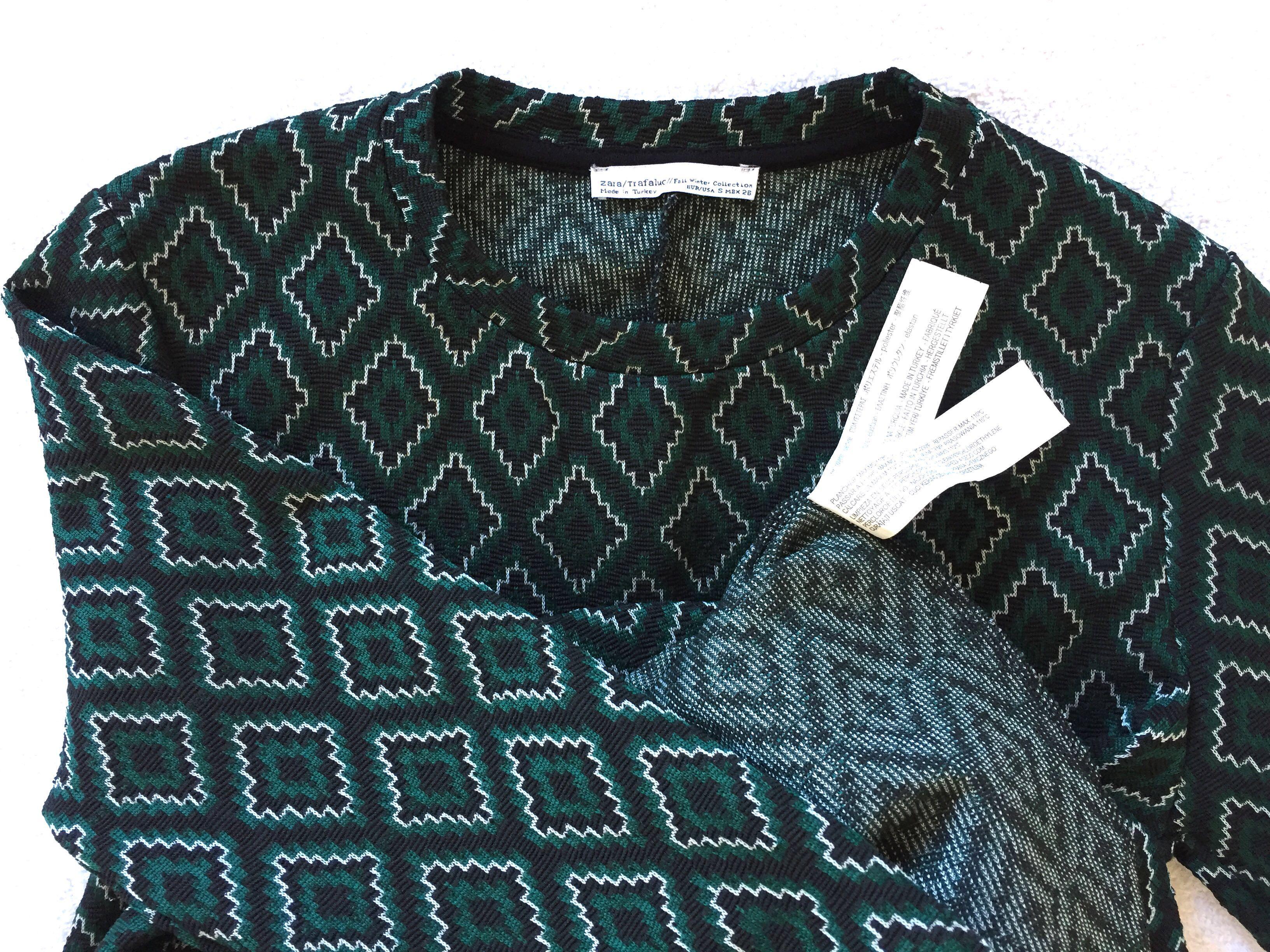 d725dc79 💯 Authentic Zara TrafaLuc Dress, Women's Fashion, Clothes, Dresses ...