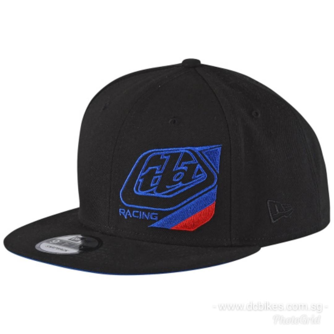 06ad3064 🆕! Genuine Troy Lee Designs Competitor Black Trucker Snapback Cap Hat #OK