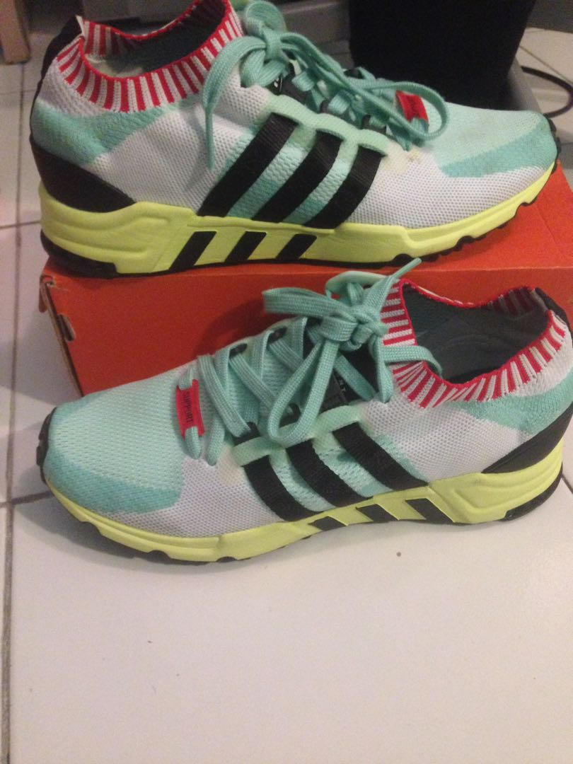 new concept b34a1 f826d adidas eqt support rf pk frozen green