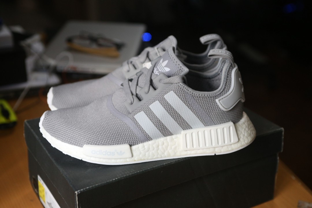d0bed36e111f2 adidas NMD R1 Mesh Charcoal Solid Grey
