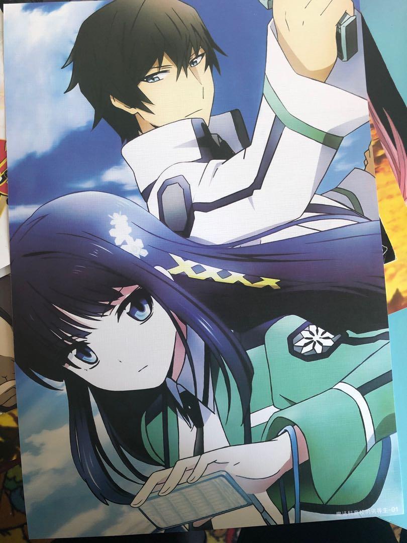 Anime poster set of 6 (The irregular at magic highschool)