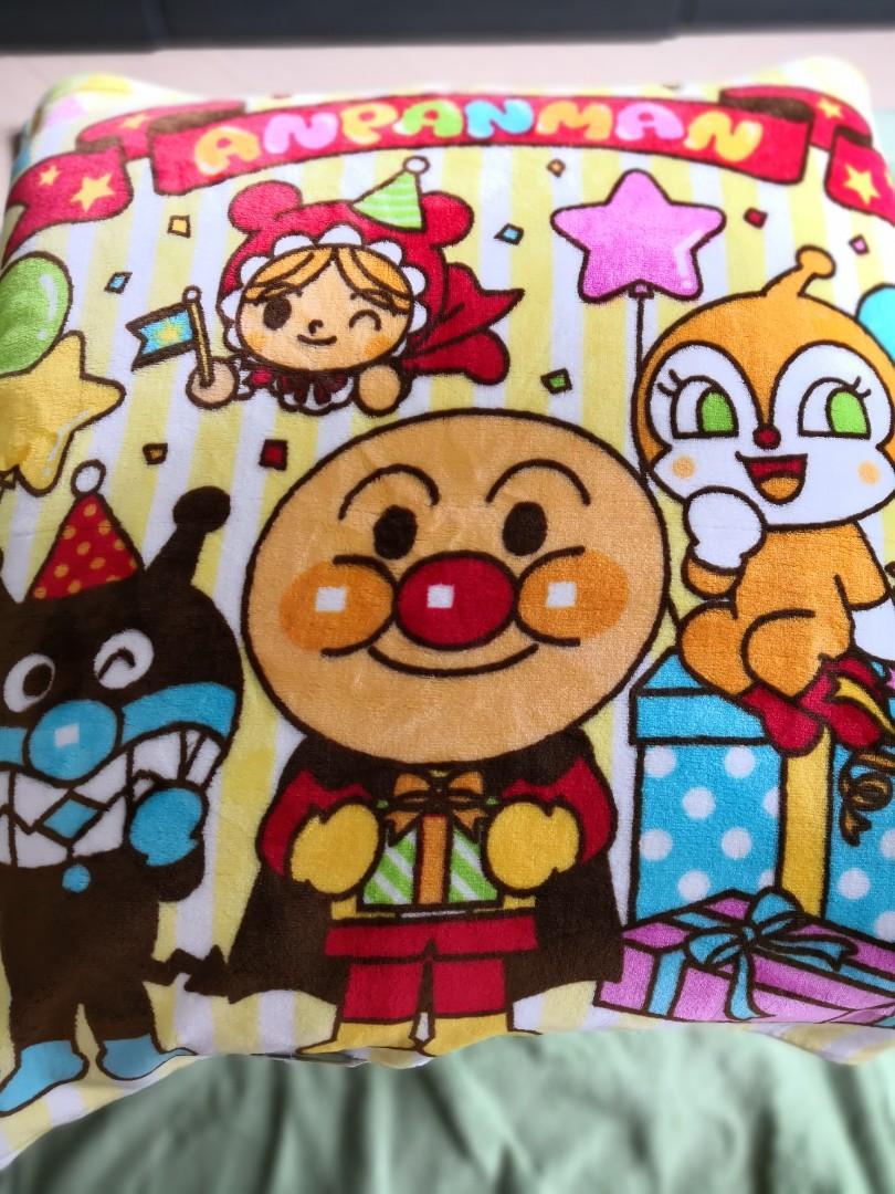 Anpanman 麵包超人被blanket -日本正版