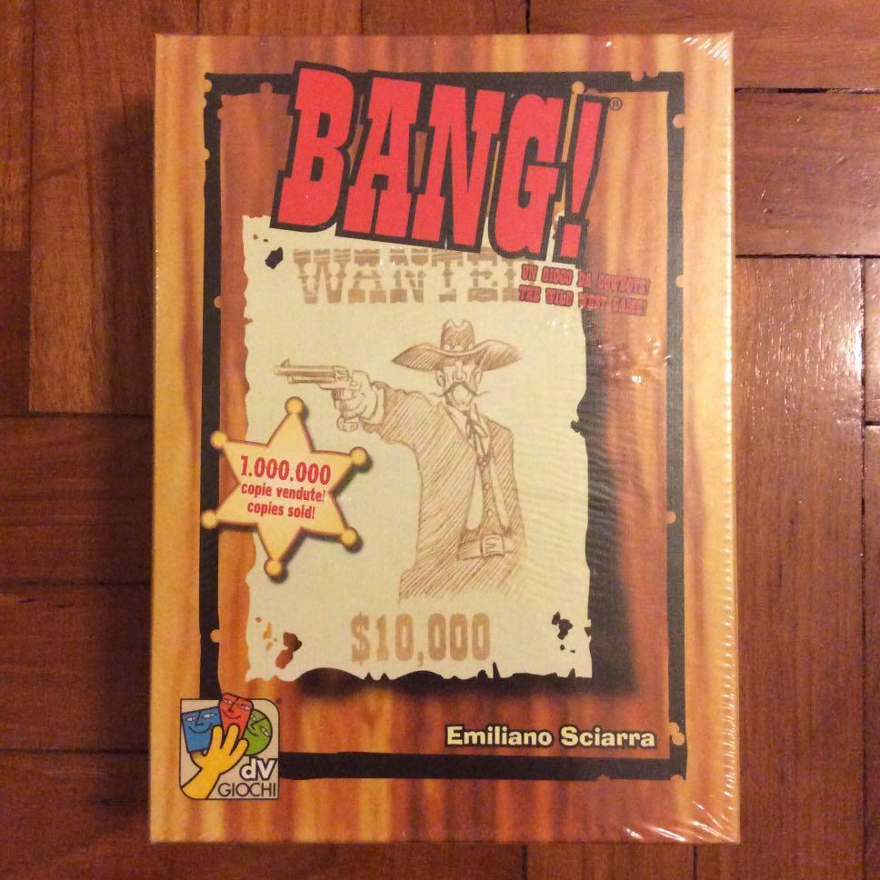 Bang 4th edition card game (NOT FAKE)