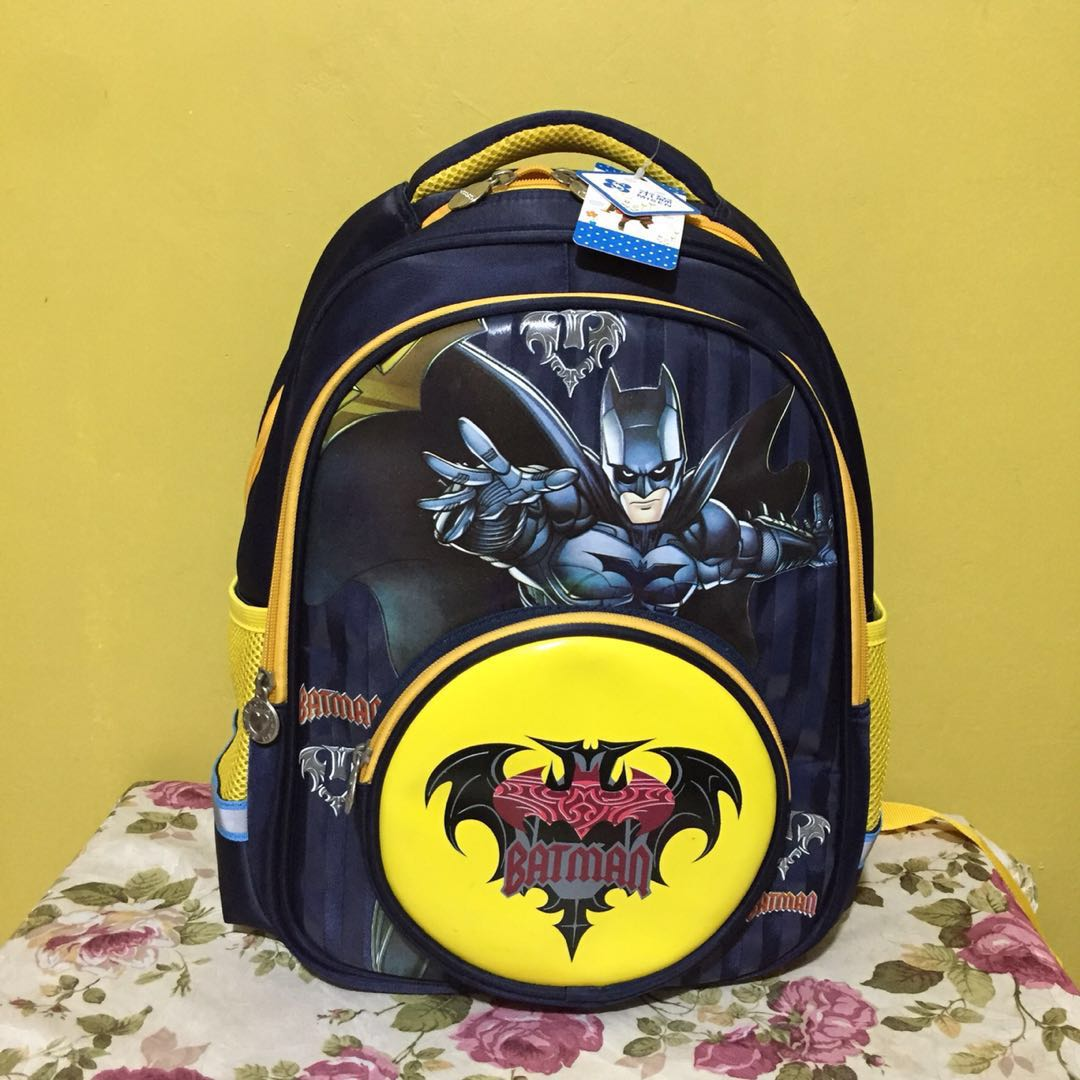 Batman Kids School Bag