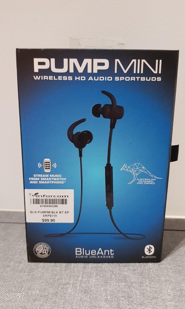 59315832177 BlueAnt Pump Mini Wireless Sports Earbuds, Electronics, Audio on ...