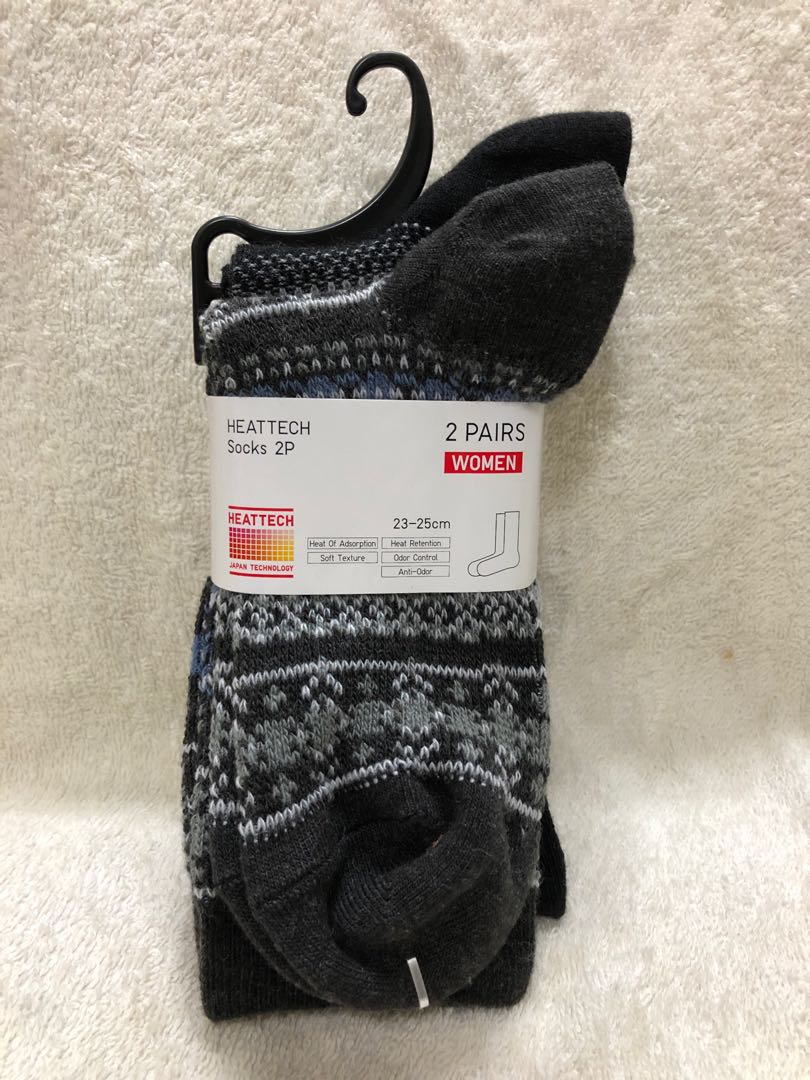 ea725e644db BN Brand New Uniqlo Heattech Heat Retention Anti Odour Women Socks ...