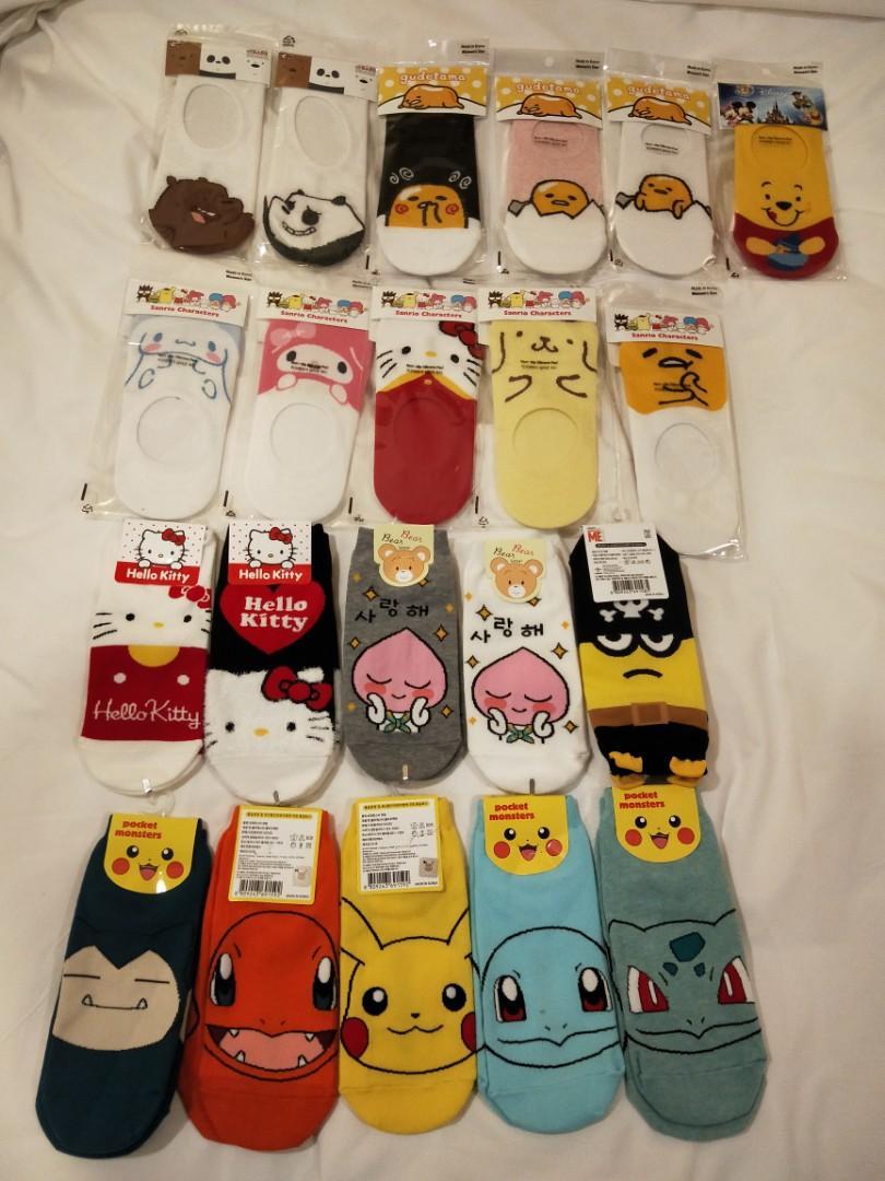 BN Korean Cute Socks