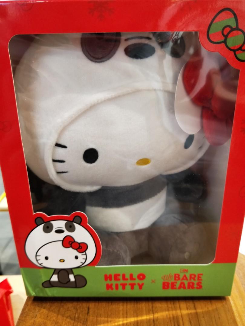 0267c94a7 PROMO IN STOCK] BNIB Sealed Hello Kitty x we bare bears plushie ...