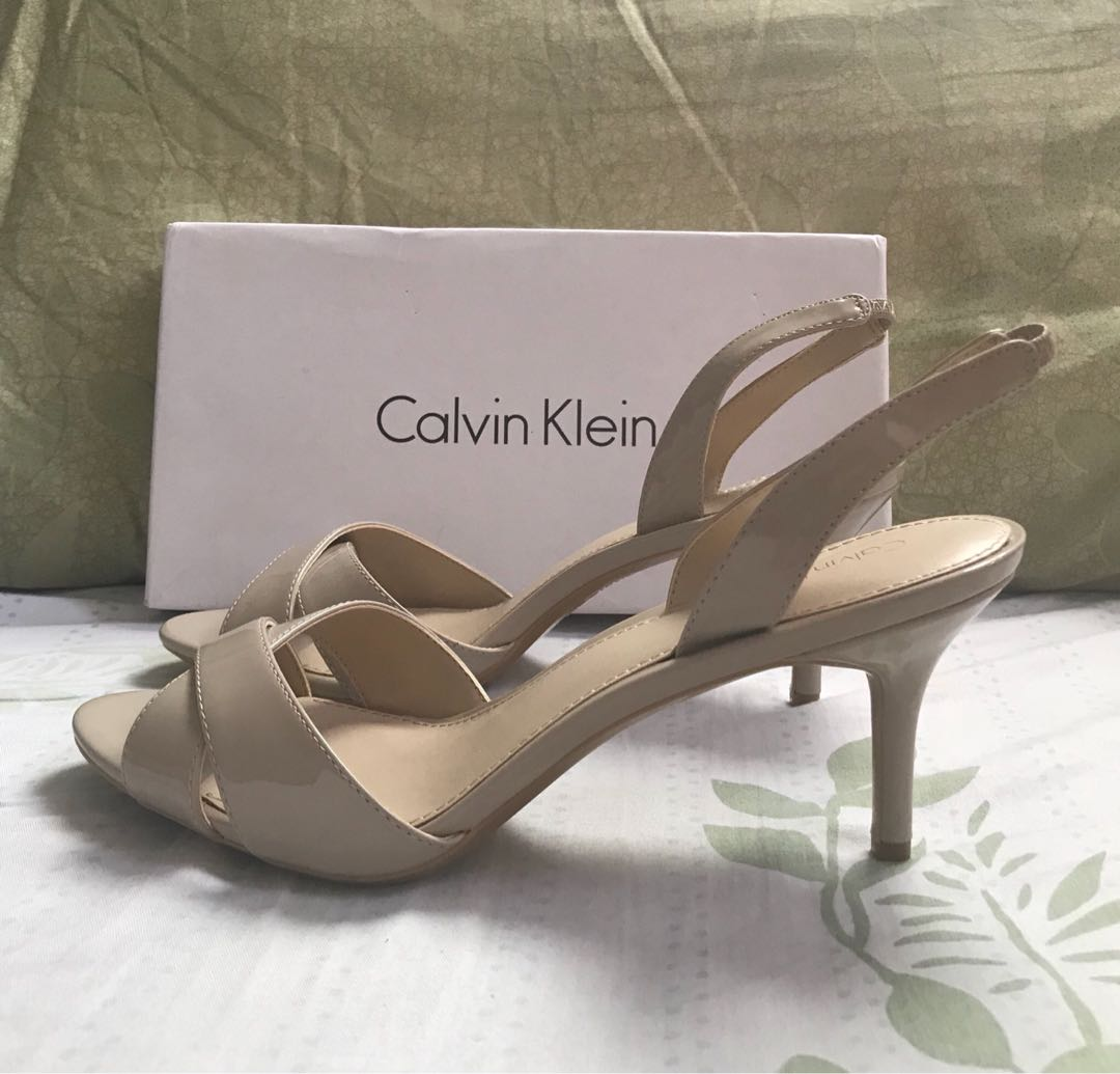 43ba206d563 Calvin Klein Lucette Patent Pump