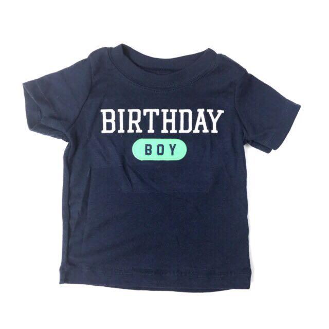 Carters Birthday Boy Shirt Babies Kids Boys Apparel 1 To 3