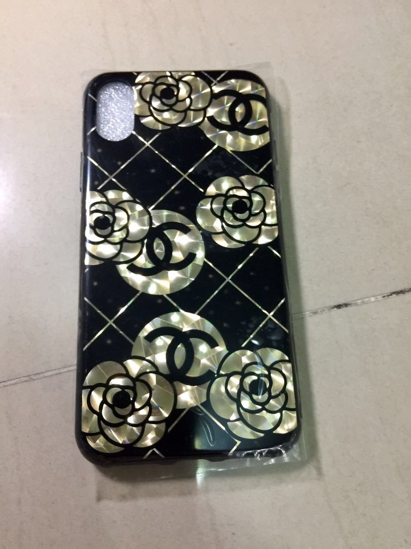 low priced 9b4c8 c3a44 Chanel Iphone X case