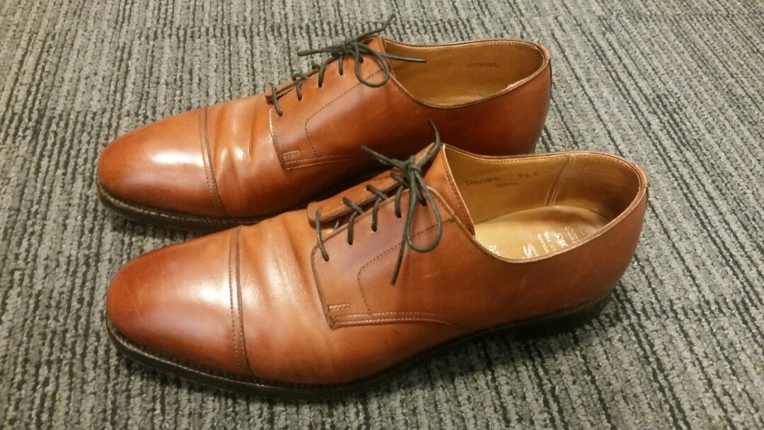 1a2b00514ae Crockett   Jones for Brooks Brothers Chestnut Derby by
