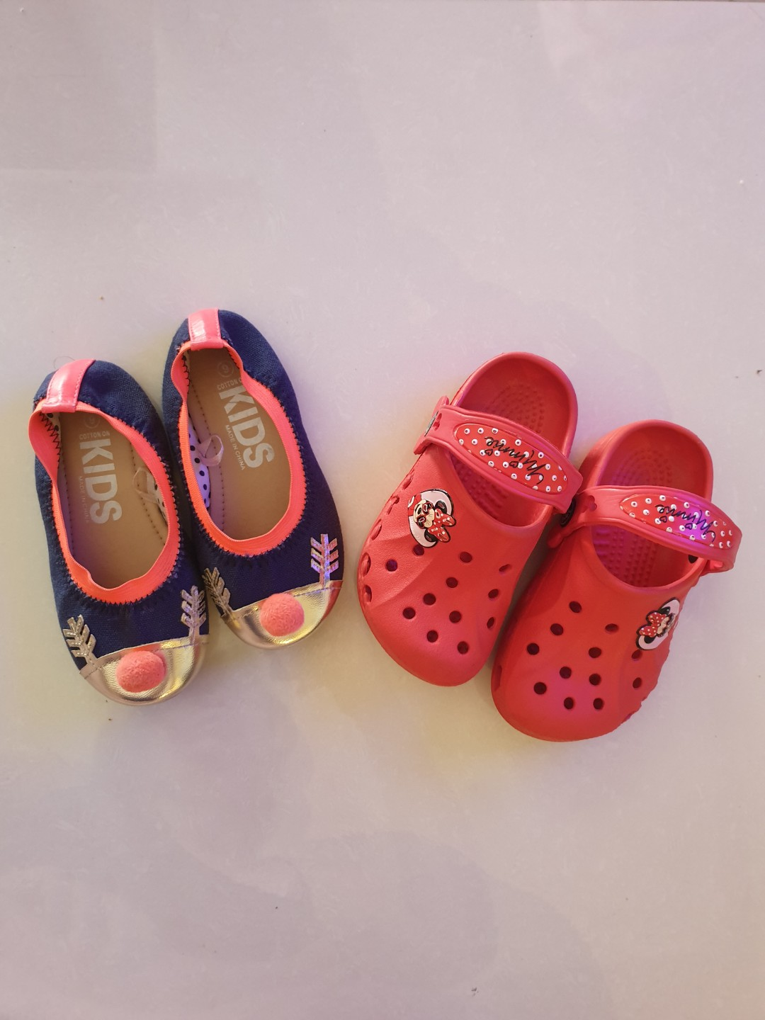 Crocs Minnie Mouse and Cotton On