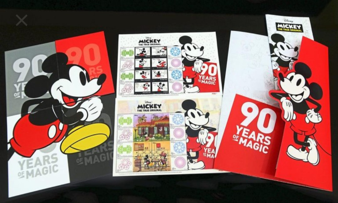 Disney Mickey Mouse Stamp Malaysia Vintage Collectibles Stamps