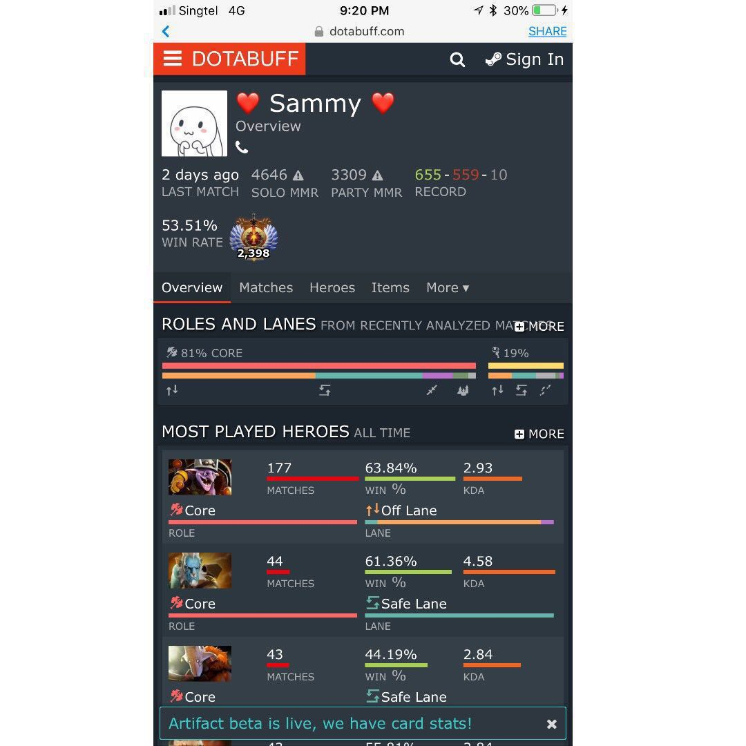 Dota 2 Leaderboard Account 592X MMR Solo (15% Discount for New Season TBD  Boost) with IO Arcana, CS GO and Immortals